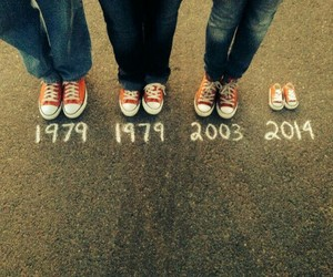 amour, converse, and date image