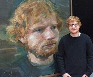 ed sheeran, art, and paint image