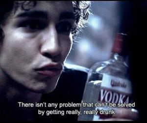 drunk, vodka, and misfits image