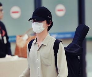 airport, asian boy, and SM image