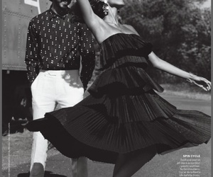 Dev Patel, vogue, and imaan hammam image