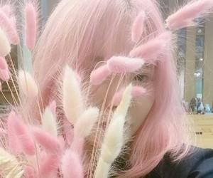 pink and ulzzang image