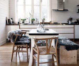 decor, rooms, and dining room image