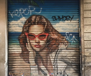 art, Barcelona, and girl image