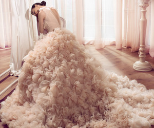 bridal, fashion, and Couture image