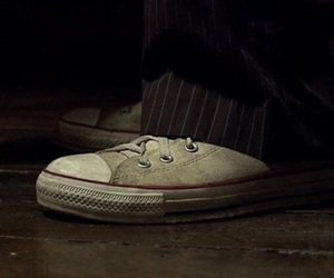 converse, david tennant, and doctor who image