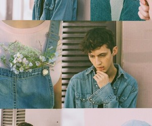 pink and blue, troye sivan, and lockscreen image