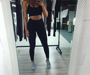 abs, beauty, and fit image