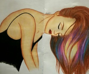 beautiful, colours, and sketchpad image