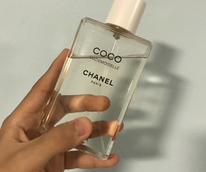 chanel, transparent, and perfume image