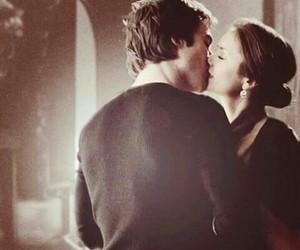 kiss, elena gilbert, and Vampire Diaries image
