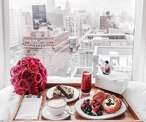 breakfast, food, and city image