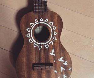 bird, draw, and ukulele image