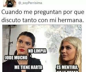 memes, hermanas, and siters image