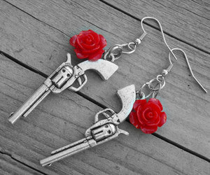 etsy, country girl, and guns and roses image