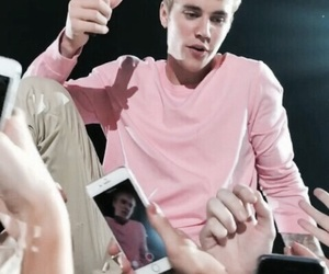 justin bieber, justin, and pink image