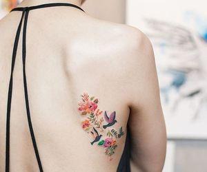 flores and tatuajes image