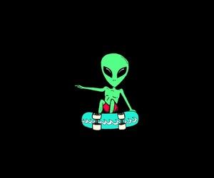 aesthetic, alien, and alternative image
