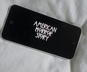 american horror story, iphone, and series image