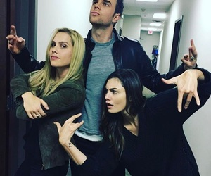 claire holt, The Originals, and phoebe tonkin image