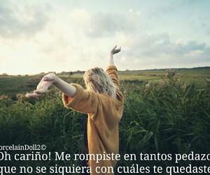 sad, tumblr, and frases en español image