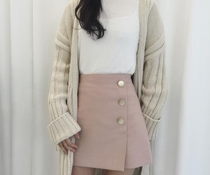 fashion, outfit, and korean image