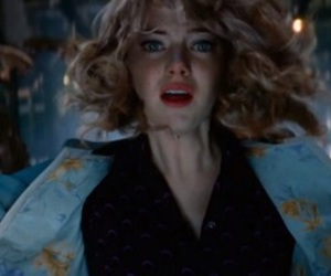 gwen stacy, emma stone, and the amazing spiderman image