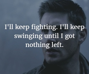 dean, quote, and Jensen Ackles image