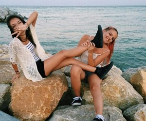 friendship, goals, and sea image