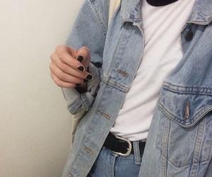 grunge, denim, and jeans image