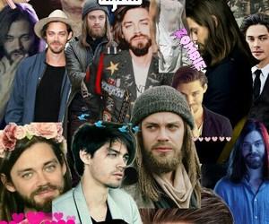 the walking dead, jesús, and tom payne image