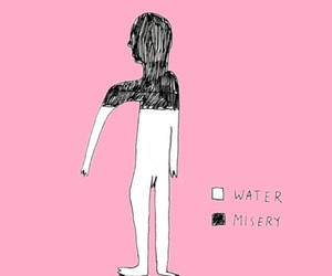 background, depressive, and draw image