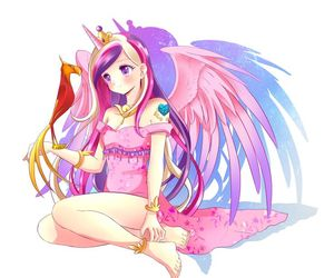anime, MLP, and my little pony image
