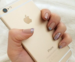 nails, iphone, and iphone 6 image