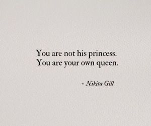 Queen, love yourself, and you don't need him image