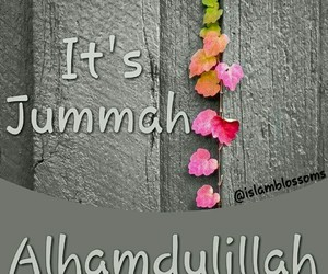 allah, friday, and inspiration image