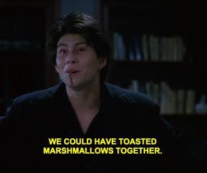 Heathers, movie, and marshmallows image