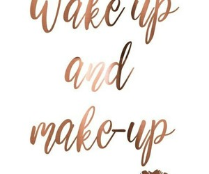 quotes, makeup, and make up image