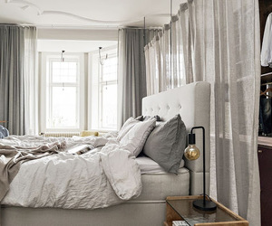 bedroom, home decor, and interior image