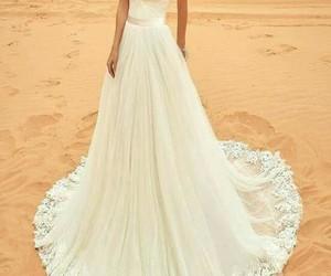 bride, weding dress, and vestido de novia image