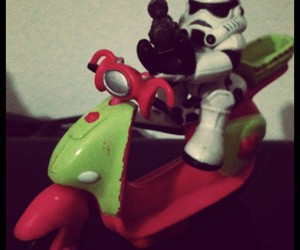 moto, polly, and stormtrooper image