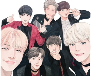 bts, fanart, and jhope image
