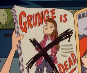grunge, cartoon, and 90s image