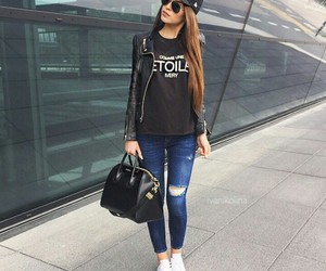 cool girl, fashion, and Givenchy image