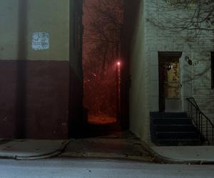 dark and night image