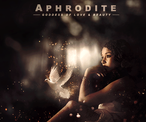 aphrodite, greek, and mythology image