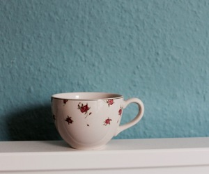 blue, cup, and indie image