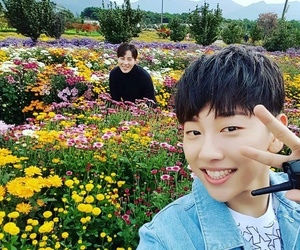 ha sungwoon, no taehyun, and produce 101 image