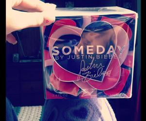 fragrance, someday, and justin bieber image