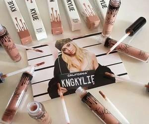 beauty, gloss, and lipstick image
